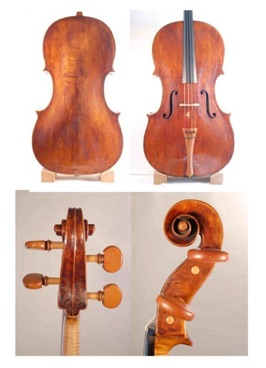 1790 cello by William Forster